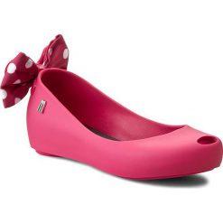 Baleriny MELISSA - Mel Ultragirl + Minnie Inf 31703  Pink 01148. Czerwone meliski damskie marki Melissa, z materiału. W wyprzedaży za 269,00 zł.