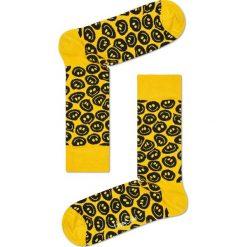 Happy Socks - Skarpetki Twisted Smile. Żółte skarpetki damskie marki Happy Socks, z bawełny. Za 39,90 zł.