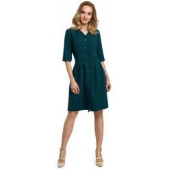 Made Of Emotion Sukienka Damska S Zielony. Czarne sukienki letnie marki Fille Du Couturier. Za 269,00 zł.