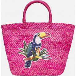Mayoral - Torebka dziecięca. Różowe torebki klasyczne damskie Mayoral, z materiału, średnie. Za 154,90 zł.