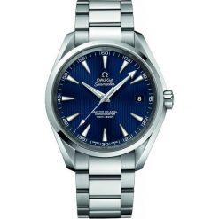 ZEGAREK OMEGA SEAMASTER 231.10.42.21.03.003. Niebieskie zegarki męskie OMEGA, ze stali. Za 20600,00 zł.