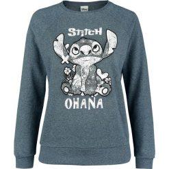 Lilo & Stitch Ohana Bluza damska odcienie niebieskiego. Niebieskie bluzy rozpinane damskie Lilo & Stitch, m, z nadrukiem. Za 144,90 zł.