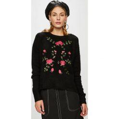 Haily's - Sweter Florentine. Czarne swetry klasyczne damskie Haily's, l, z dzianiny, z okrągłym kołnierzem. Za 119,90 zł.