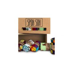 Skarpetki męskie: Kolorowe skarpetki - zestaw Spox Sox