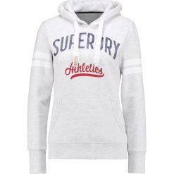 Bluzy damskie: Superdry NY ATHLETICS Bluza z kapturem ice marl
