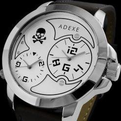 Zegarki męskie: Zegarek Adexe Męski Dual Time X V
