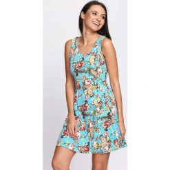 Sukienki: Jasnoniebieska Sukienka Strawberries