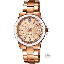 Zegarek Casio Damski SHE-4512PG-9AUER Sheen Szafir. Różowe zegarki damskie CASIO. Za 545,00 zł.