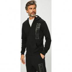 Calvin Klein Performance - Bluza. Czarne bejsbolówki męskie Calvin Klein Performance, l, z nadrukiem, z bawełny, z kapturem. Za 399,90 zł.