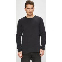 Casual Friday - Sweter. Czarne swetry klasyczne męskie marki Casual Friday, l, z bawełny, z okrągłym kołnierzem. W wyprzedaży za 179,90 zł.