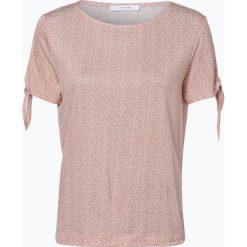 Opus - T-shirt damski – Sadie, pomarańczowy. Brązowe t-shirty damskie Opus, w kwiaty. Za 89,95 zł.