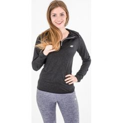 Bluzy rozpinane damskie: 4f Bluza damska z kapturem H4L17-BLDF001 czarna r.L