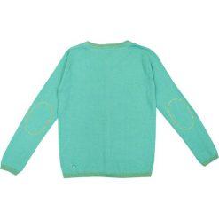 Nativo - Sweter dziecięcy 104-164 cm. Niebieskie swetry dziewczęce marki Nativo, z bawełny. W wyprzedaży za 69,90 zł.