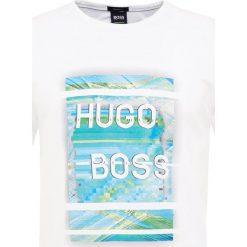 T-shirty męskie z nadrukiem: BOSS Green Tshirt z nadrukiem white