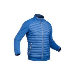 Kurtka narciarska wewnętrzna 900 męska. Niebieskie kurtki męskie puchowe marki WED'ZE. Za 179,99 zł.
