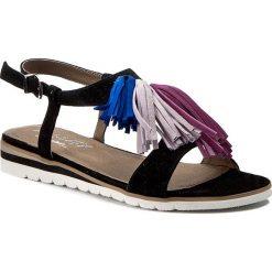 Sandały damskie: Sandały ANN MEX - 8052 01W02RW04WJ05  Czarny