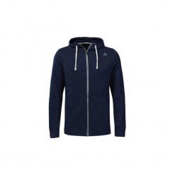 Bluzy Reebok Sport  Bluza z kapturem Training Essentials Marble Group Full-Zip. Niebieskie bluzy męskie rozpinane Reebok Sport, l, z kapturem. Za 249,00 zł.