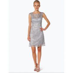 Sukienki: Niente – Damska sukienka wieczorowa, szary