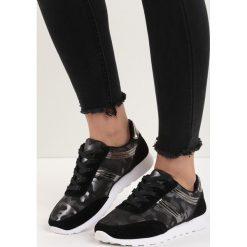 Czarne Buty Sportowe Good Times. Czarne buty sportowe damskie marki Born2be, moro, z materiału. Za 69,99 zł.
