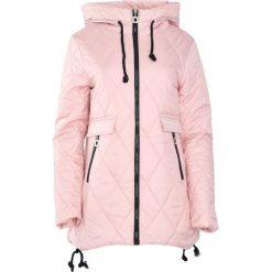 Różowa Kurtka All My Hours. Brązowe kurtki damskie pikowane marki QUECHUA, na zimę, m, z materiału. Za 84,99 zł.