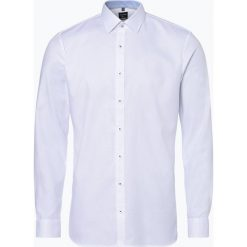 OLYMP No. Six - Koszula męska łatwa w prasowaniu, czarny. Czarne koszule męskie non-iron marki OLYMP No. Six, m. Za 249,95 zł.