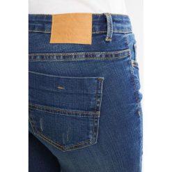 Boyfriendy damskie: JDY JDYSKINNY FLORA  Jeans Skinny Fit dark blue denim