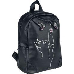 Dancing Days Meow Backpack Plecak czarny/biały. Białe plecaki męskie Dancing Days, z aplikacjami. Za 164,90 zł.