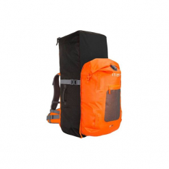 Plecak 500 Na Stand Up Paddle Turystyczny 100+40 L Szczelny. Szare plecaki męskie marki ITIWIT, z materiału, sportowe. Za 319,99 zł.