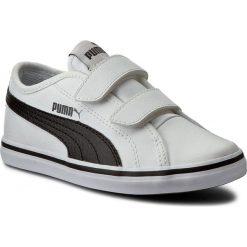 Półbuty PUMA - Elsu V2 Sl V Ps 361601 02 Puma White/Puma Black. Białe półbuty damskie skórzane marki Puma, na rzepy. W wyprzedaży za 139,00 zł.