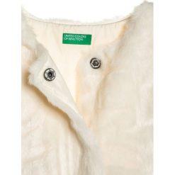 Benetton Kamizelka beige. Brązowe kamizelki dziewczęce marki Benetton, z materiału. W wyprzedaży za 186,75 zł.