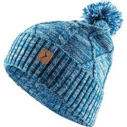 Czapka damska niebieska r. L/XL (HOZ18-CAD617). Niebieskie czapki zimowe damskie Outhorn. Za 37,72 zł.