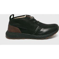 Bugatti - Buty. Czarne buty skate męskie Bugatti, z materiału, na sznurówki. W wyprzedaży za 319,90 zł.