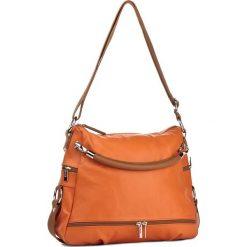 Torebka CREOLE - RBI215 Pomara/J.Brąz. Czarne torebki klasyczne damskie marki Creole, ze skóry. W wyprzedaży za 319,00 zł.