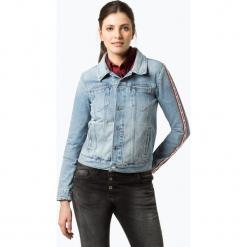 Tommy Jeans - Damska kurtka jeansowa, niebieski. Niebieskie kurtki damskie jeansowe marki Tommy Jeans, l. Za 649,95 zł.