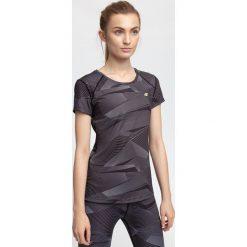Bluzki damskie: Koszulka treningowa damska TSDF205 - multikolor allover