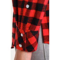 Koszule wiązane damskie: SET Koszula black/red