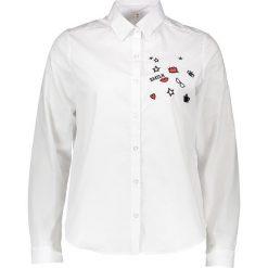 Topy sportowe damskie: Bluzka – Comfort fit – w kolorze białym