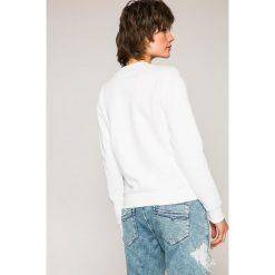 Diesel - Bluza. Szare bluzy damskie Diesel, m, z nadrukiem, z bawełny, bez kaptura. W wyprzedaży za 449,90 zł.