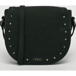Nobo - Torebka. Czarne torebki klasyczne damskie marki Nobo, w paski, z materiału, duże. Za 229,90 zł.