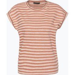 Drykorn - T-shirt damski – Malaika, brązowy. Brązowe t-shirty damskie DRYKORN, l, w prążki. Za 309,95 zł.
