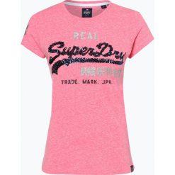 Superdry - T-shirt damski, różowy. Czerwone t-shirty damskie Superdry, l. Za 149,95 zł.