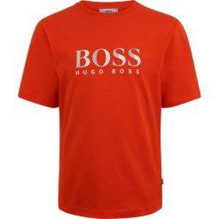 BOSS Kidswear KURZARM ZBASIC Tshirt z nadrukiem hellrot. Niebieskie t-shirty męskie z nadrukiem marki BOSS Kidswear, z bawełny. Za 159,00 zł.