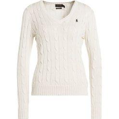 Swetry klasyczne damskie: Polo Ralph Lauren KIMBERLY Sweter cream