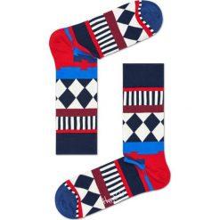 Happy Socks - Skarpety Disco Tribe. Szare skarpetki męskie Happy Socks, z bawełny. Za 34,90 zł.