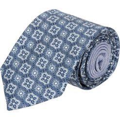 Krawat winman niebieski 214. Niebieskie krawaty męskie Recman. Za 129,00 zł.