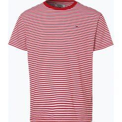 Tommy Jeans - T-shirt męski, czerwony. Czerwone t-shirty męskie marki Tommy Jeans, m, w paski, z jeansu. Za 119,95 zł.