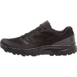 Salomon OUTLINE GTX Obuwie hikingowe black/phantom/magnet. Czarne buty sportowe męskie marki Salomon, z materiału, outdoorowe. Za 569,00 zł.