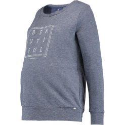 Bluzy rozpinane damskie: bellybutton Bluza night melange/blue