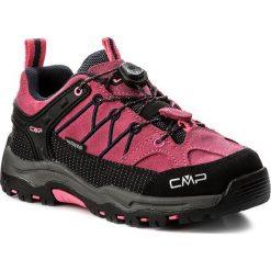 Buty trekkingowe dziewczęce: Trekkingi CMP – Kids Rigel Low Trekking Shoes Wp 3Q13244  Pink Fluo/Asphalt 91BD