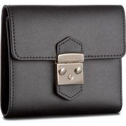 Mały Portfel Damski FURLA - Metropolis 921905 P PU28 VFO Onyx. Czarne portfele damskie Furla, ze skóry. W wyprzedaży za 469,00 zł.